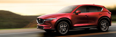 The 2018 Mazda CX-5, shown above, recently arrived at Matt Castrucci Mazda in Dayton.