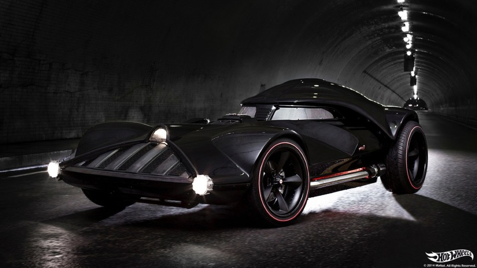 The Darth Vader car will be a highlight of the Hot Wheels display at the Canadian International AutoShow (CNW Group/Canadian International AutoShow)
