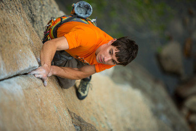 Alex Honnold, Fish Crack 5.12b Yosemite National Park, CA 2012 [Photo] Andrew Burr