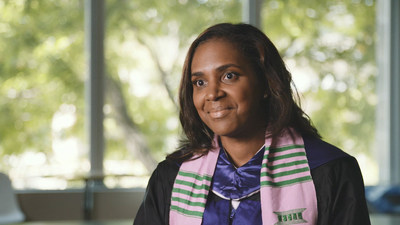 Kenitra Williams' employer, T-Mobile, participates in Full Tuition Grant program. With this program, T-Mobile's tuition assistance benefits combine with a grant from Ashford to cover the costs of earning a degree.