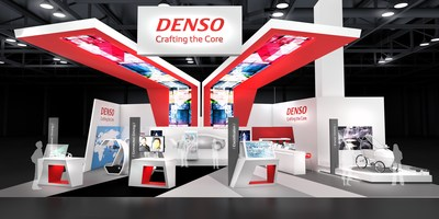 DENSO will exhibit in Hall A at Cobo Center
