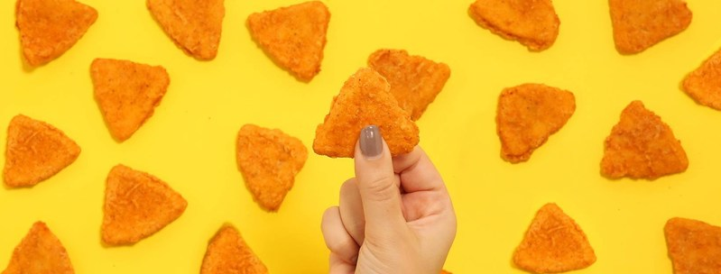 Naked Chicken Chips, the crispy triangles of temptation. (CNW Group/Taco Bell Canada)