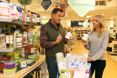 Bill and Giuliana Rancic show off their favorite wellness finds at Marshalls in Tribeca as they shop products to help them keep their family resolutions on Wednesday, Jan. 10, 2018 in New York City.