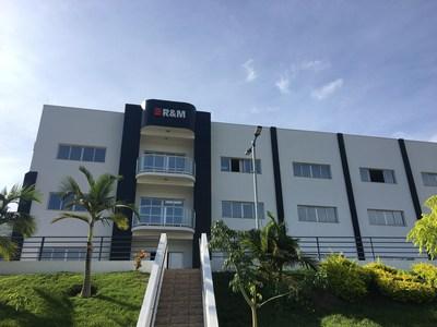 R&M's production plant in Santa Rita do Sapucaí, Brazil.