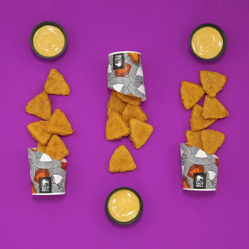The Naked Chicken Chips in all their glory. (CNW Group/Taco Bell Canada)