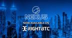 Nexus Cryptocurrency Now Trading on RightBTC - Dubai's Largest Cryptocurrency Exchange