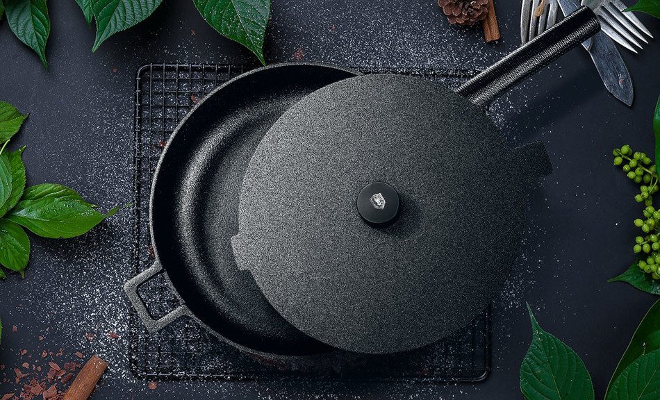 A photo of Velosan's new cookware series