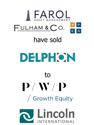 Lincoln International represents Farol Asset Management, Fulham & Co., Brooke Private Equity Associates and Management Shareholders in the sale of Delphon Industries to PWP Growth Equity
