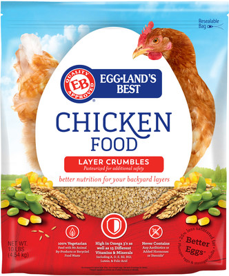 Eggland's Best Chicken Food Layer Crumbles