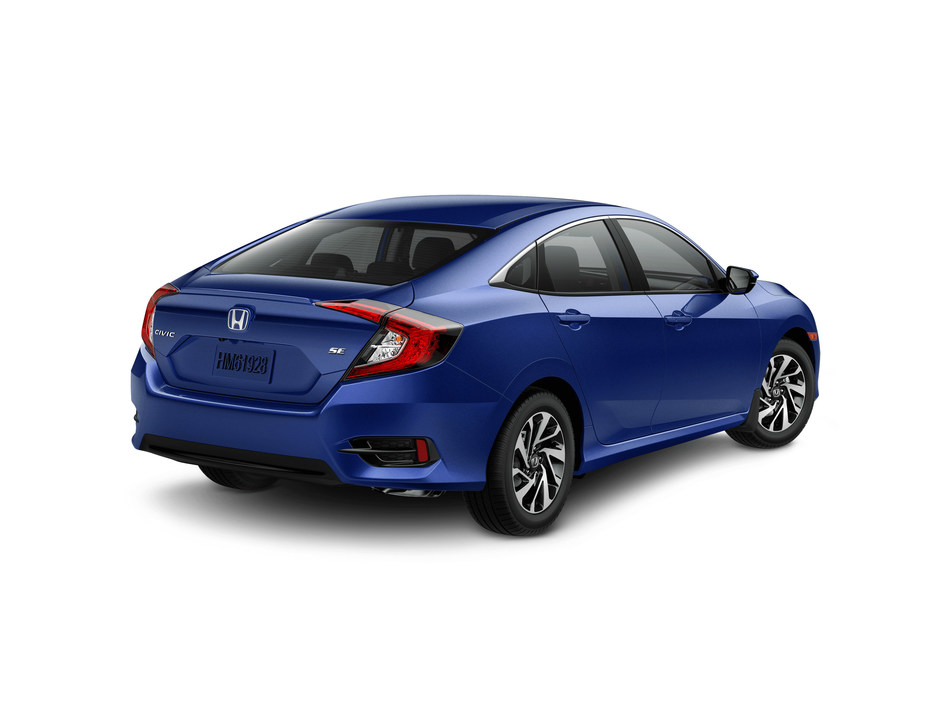 Honda Canada adds a Special Edition (SE) sedan trim to the already diverse Civic lineup to celebrate the nameplate's 20 years as best-selling car in Canada. (CNW Group/Honda Canada Inc.)
