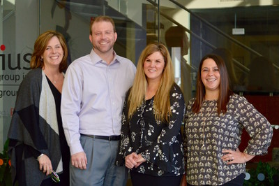 MaryAnn Vierra, Account Manager, Kyle Andress, Director of Insurance Sales, Pam Keep, Account Manager and Rachael Brady, Account Manager
