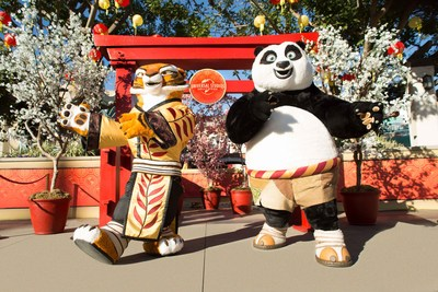 "DreamWorks' Kung Fu Panda's Po and Tigress Headline Universal Studios Hollywood's All-New Lunar New Year Event as the Theme Park Ushers in the ""Year of the Dog"" with a New Dragon Warrior Training Show, Mr. Ping's Noodle Shop and More from February 10–25"