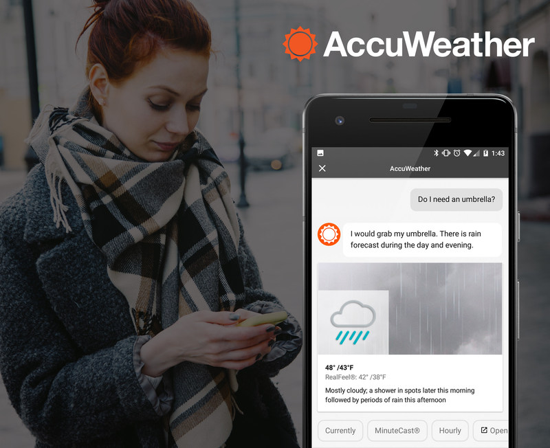 New AccuWeather App for the Google Assistant