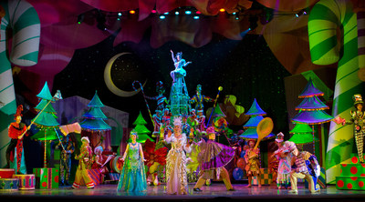 Cirque Dreams Holidaze celebrated its 10th season with record ticket sales for the tour. (PRNewsfoto/Cirque Dreams)