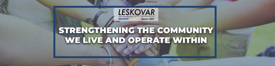 Leskovar Motors believes in giving back. That is why the dealership supports local non-profits in their missions to improve the community.