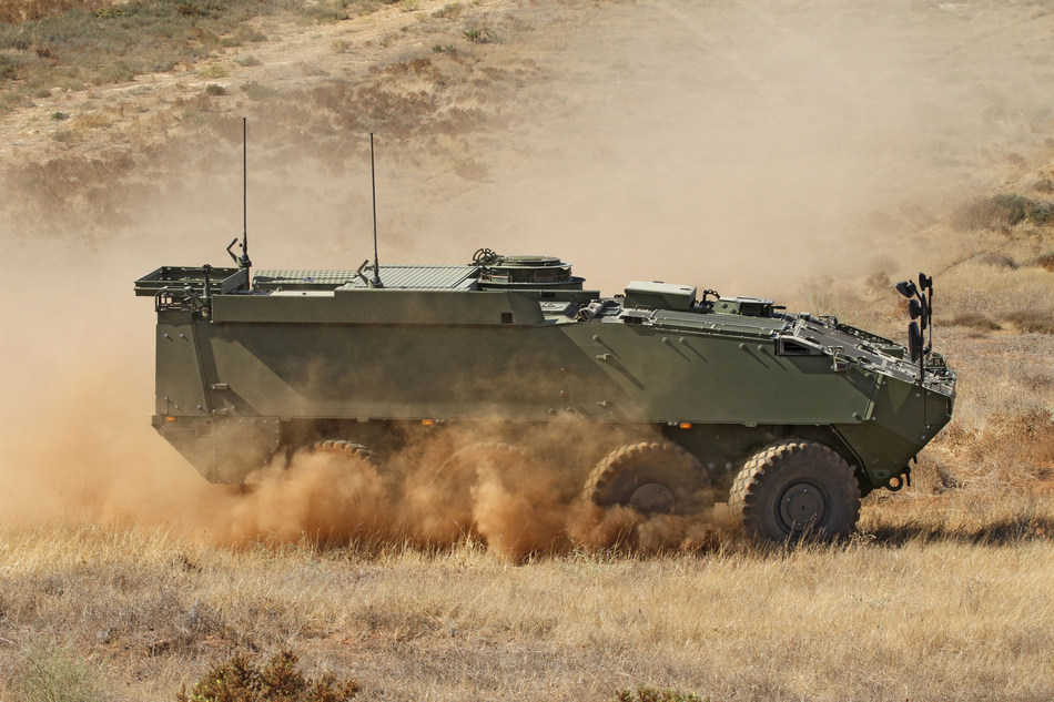 Today, General Dynamics European Land Systems signed a contract to deliver up to 227 PIRANHA 5 wheeled armored vehicles in six different configurations to the Romanian Armed Forces. The contract has a total value exceeding $1 billion. It is part of the Romanian Army's plan to modernize its legacy wheeled armored vehicle fleet.