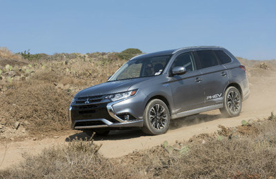 The all-new 2018 Outlander PHEV offers rugged capability and hybrid fuel-saving technology.