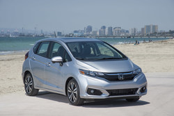 The 2018 Honda Fit, pictured here, is one of the models included in Meridian Honda's special offers.