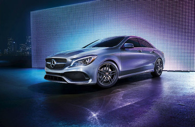The 2018 CLA 250 Coupe, pictured here, is one of the models available with reduced monthly lease payments at Mercedes-Benz of Arrowhead.