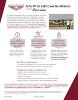 Global Aerospace launches innovative Aircraft Breakdown Assistance program for light aircraft.