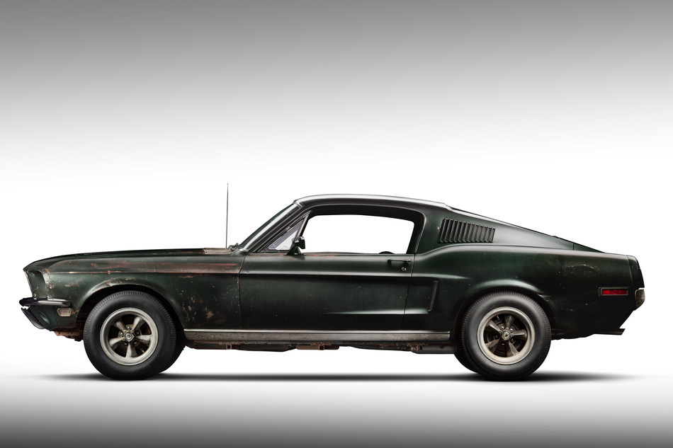 Original 1968 Mustang '559 from movie Bullitt. Courtesy of HVA, Casey Maxon