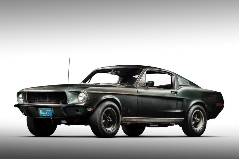 Original 1968 Mustang '559 from movie Bullitt 3q. Courtesy of HVA, Casey Maxon