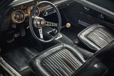 Original 1968 Mustang '559's interior. Courtesy of HVA, Casey Maxon