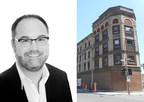 David Moss est nommé Co-directeur général de l'organisme montréalais la Piscine. M. Moss dirigera le développement stratégique et des opérations de la Piscine et la structuration de son projet phare du Rodier, immeuble patrimonial iconique destiné à devenir le premier site montréalais dédié à l'entrepreneuriat culturel et créatif. (Groupe CNW/La Piscine)