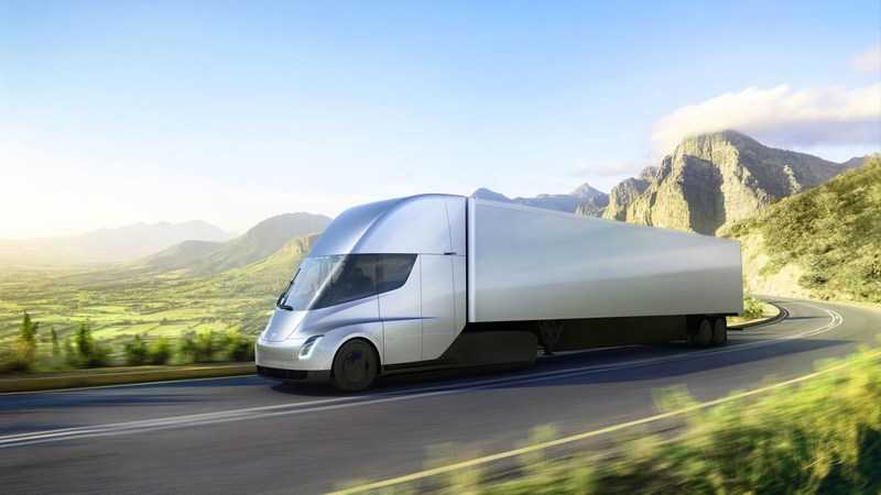 Bee'ah to add 50 all-electric Tesla Semi trucks to its transport fleet (PRNewsfoto/Bee'ah Press Office)