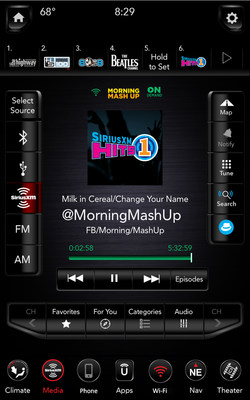 SiriusXM with 360L: Easily access SiriusXM's On Demand library for shows such as The Morning Mashup on SiriusXM Hits 1.