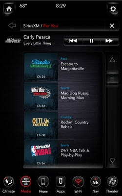 SiriusXM with 360L: Personalized recommendations of SiriusXM channels and On Demand episodes just For You.