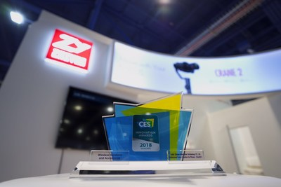 Zhiyun Tech Attends CES 2018 As Innovation Awards Honoree