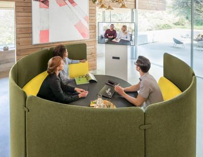 Sedus se:works - designed for working. Alone and in a team. Photo: Sebastian Bullinger (PRNewsfoto/Sedus Stoll AG)