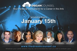 The Dream Counsel is a group of elite veteran entertainment industry professionals ready to consultants one-on-one with young people aspiring to a career in the arts.