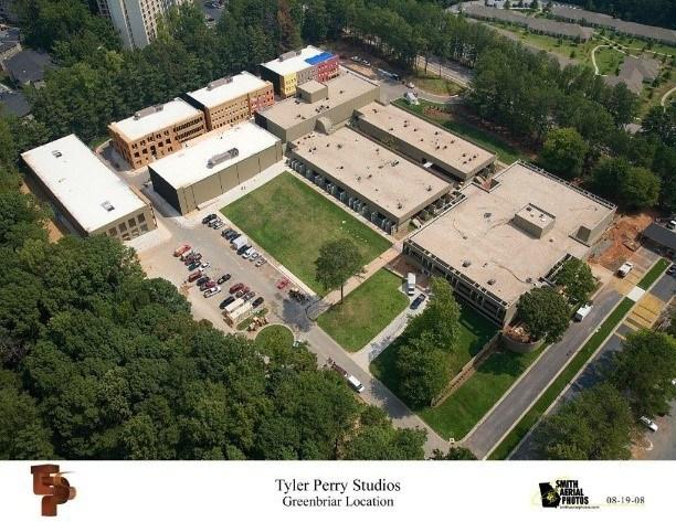 Tyler Perry Studios - Greenbriar Location