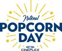 National Popcorn Day (CNW Group/Cineplex)