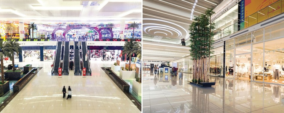 Figure 1. Arabian Centres deploys complete Avigilon security solution to protect more than 10 million square feet of retail space. (CNW Group/Avigilon Corporation)