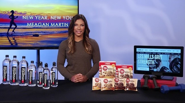 American Ninja Warrior Meagan Martin gives her tips on staying fit and healthy in the new year!