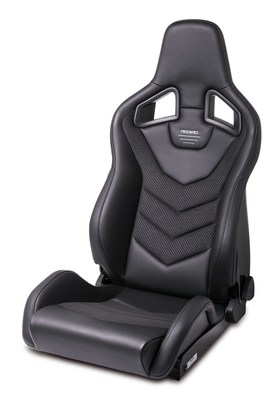Recaro Sportster GT: With its exclusive new victory design, the sleek shell seat fits perfectly into smart interiors and combines the very best of sports and purebred racing seats.