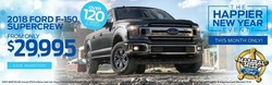 Car shoppers in the Chattanooga area can save on the latest 2018 Ford models at Marshal Mize Ford through January 31 during The Happier New Year Event.