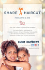 Hair Cuttery's Share-A-Haircut Charitable Giving Campaign Begins 19th Year