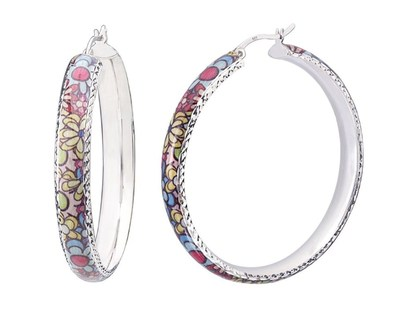 Floral Hoops From The Blossoms Collection: STYLE NUMBER: F57841