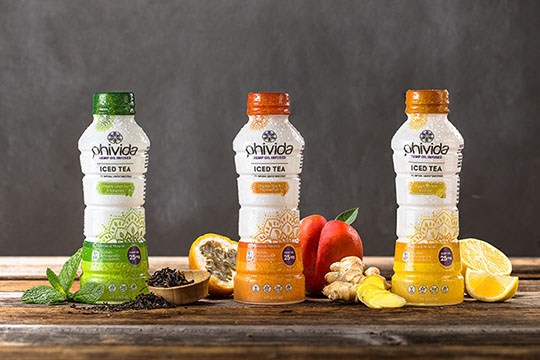 Phivida Launches Nano-CBD™ Iced Tea Product Line (CNW Group/Phivida Holdings Inc.)