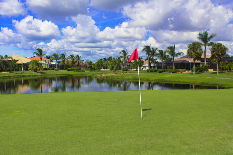 Cape Royal Golf Club golf course located in Cape Coral, Florida managed by Indianapolis based Green Golf Partners.