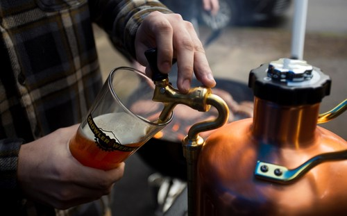 The uKeg makes homegating even more desirable.