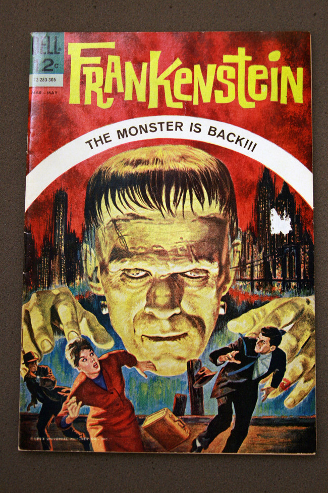 """Myriad """"Frankenstein"""" editions and collectibles will be displayed and offered for sale. Credit: UC Riverside Library"""