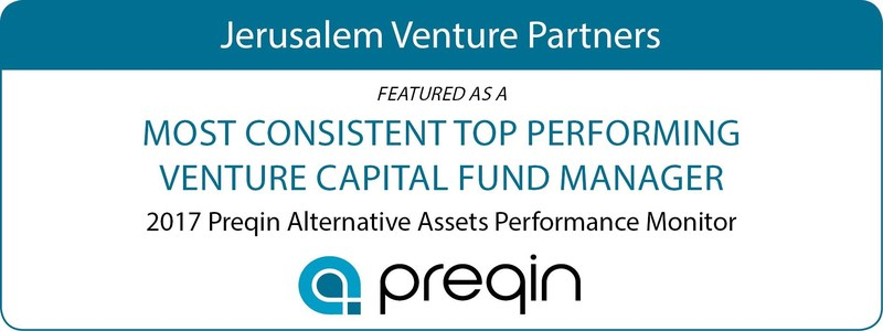 Israeli VC JVP Named One of Top Consistently Performing VC Firms in the World by Preqin