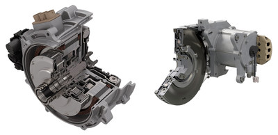 BorgWarner's on- and off-axis P2 modules for HEV facilitate fast-to-market hybridization and enable pure electric driving for significant CO2 emission reductions.