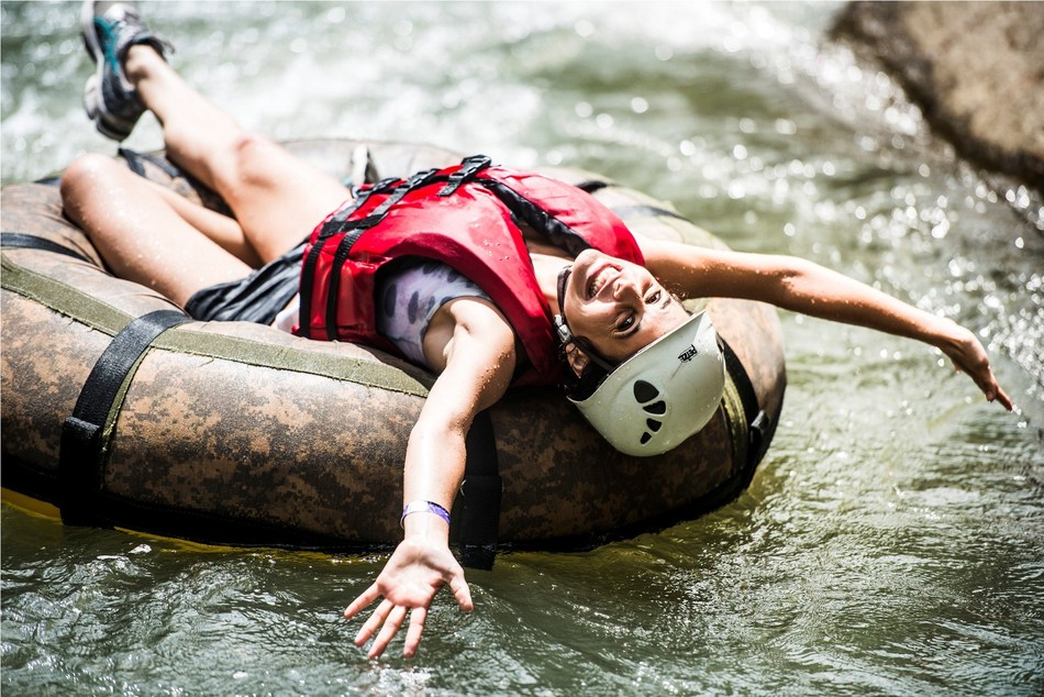 Fitcation for the win! River rafting is just one of many adventure activities visitors can get into when visiting Costa Rica. It's an exhilarating way to stay fit and healthy while on vacation.