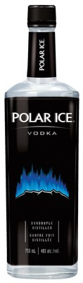 Polar Ice Vodka removes iconic bear from bottle in support of Polar Bears International (CNW Group/Corby Spirit and Wine Communications)